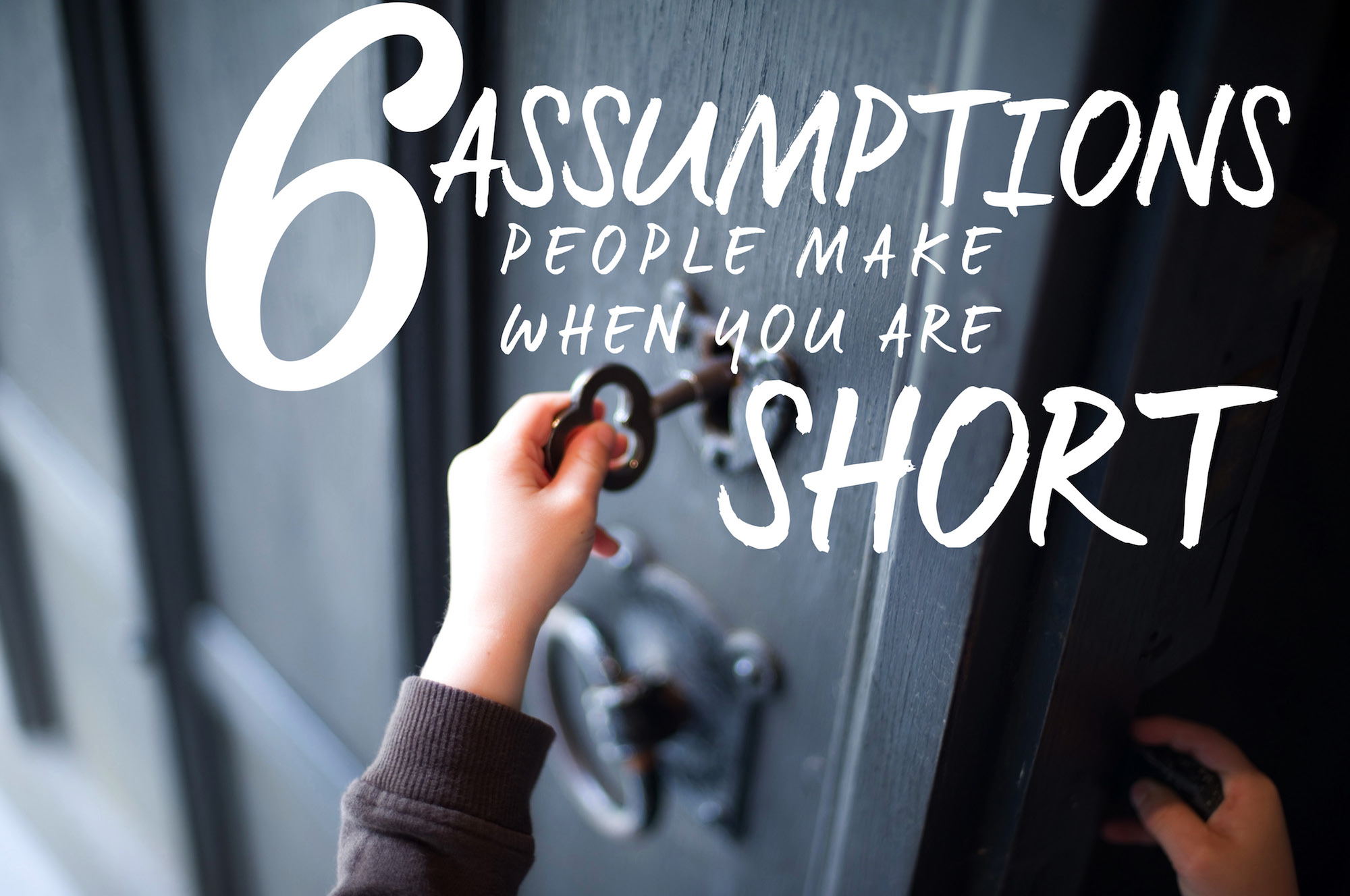 short girl assumptions