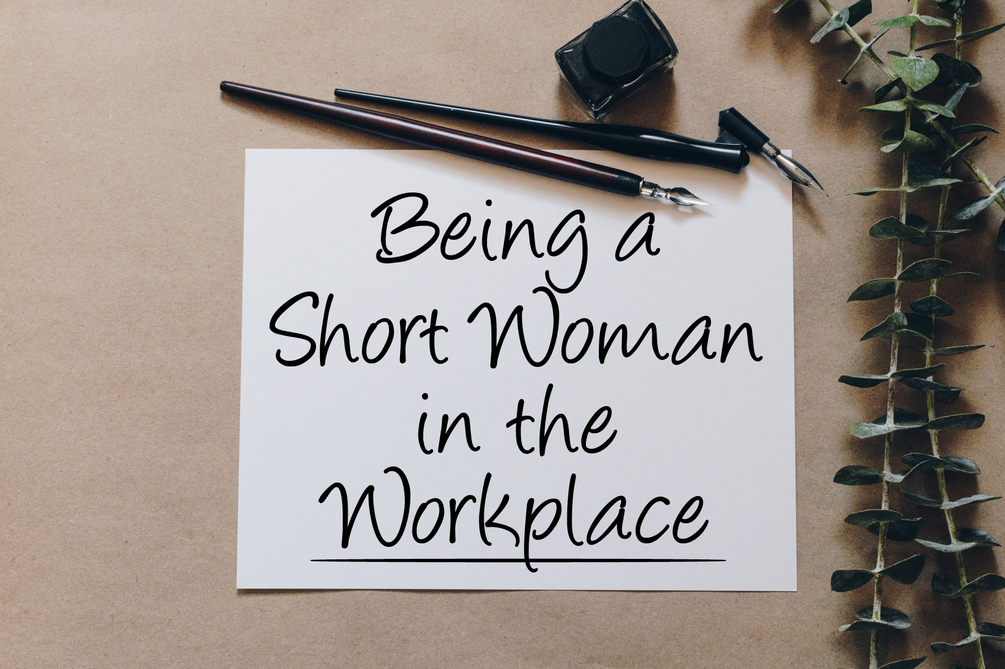 short women in the workplace