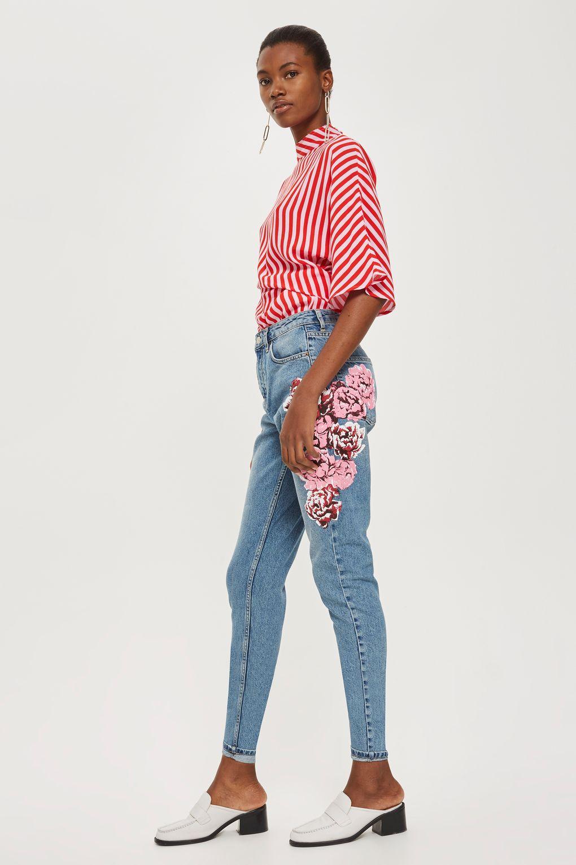Topshop-Floral-Mom-Best-Petite-Jeans